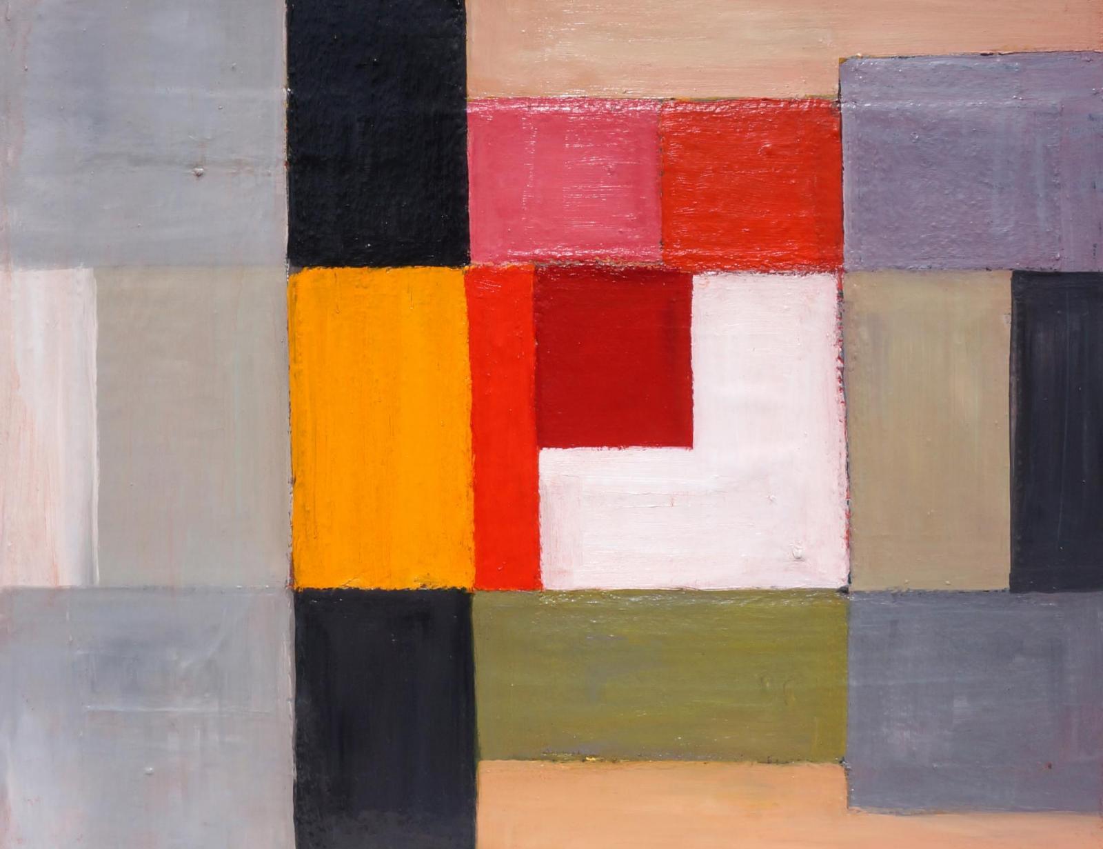 N°3 Covid 19 Huile sur toile 81 x 65 cm 25F Prix:800 €